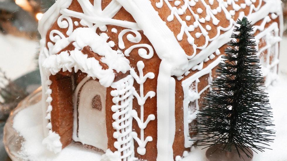 B.I.Y Gingerbread Christmas Cottage Kit
