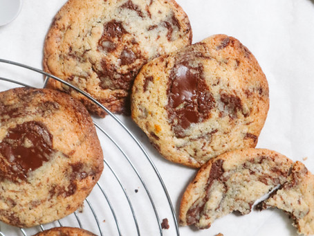 Monster Cookies: Chocolate Orange Edition