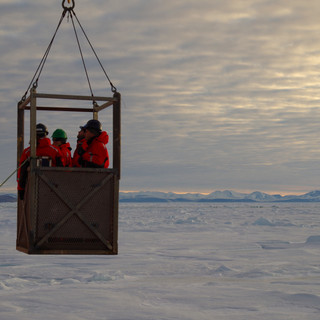 Working on the sea ice by Marianne Falardeau -2015-