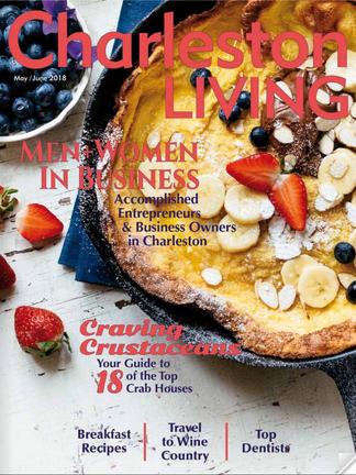 Charleston Living, A Midsummer Night's Breakfast
