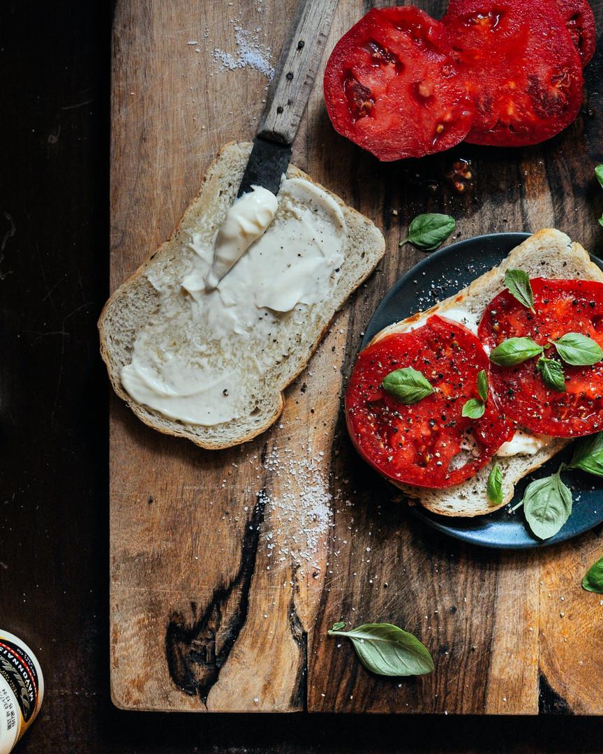 Dukes Tomato Sandwich