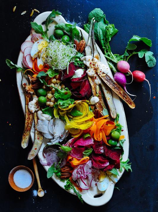 Roasted Root Salad