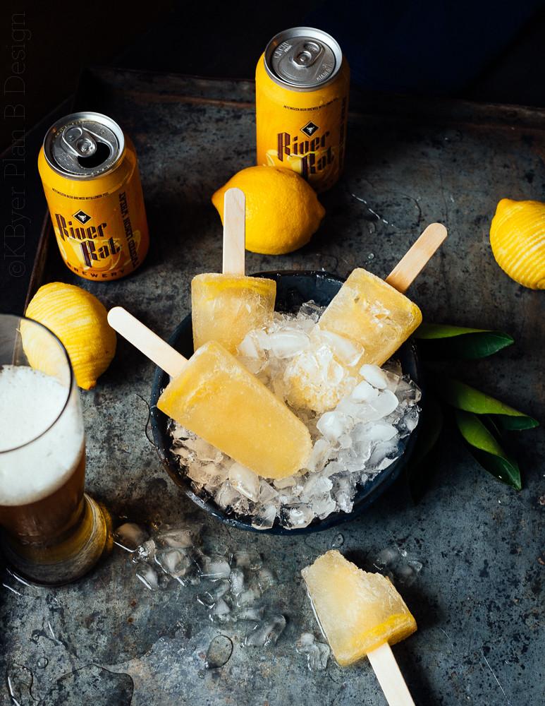 Lemon Shandy Popscicles