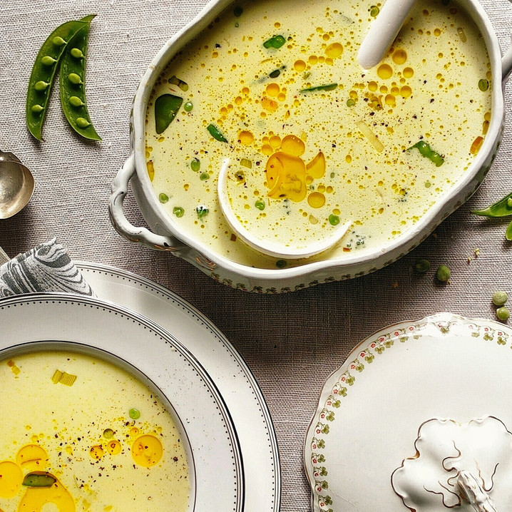 Coconut Pea Soup