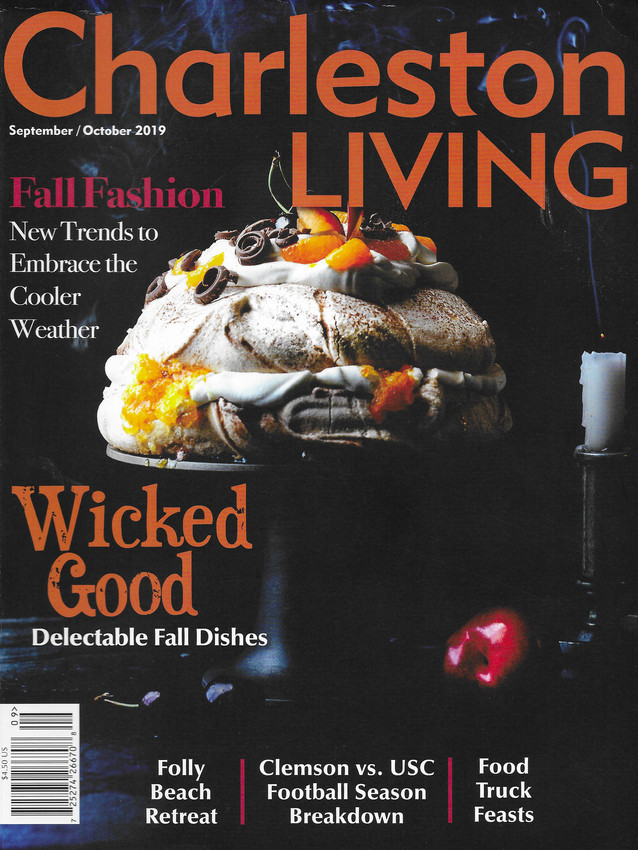 Wicked Good, Charleston Living Halloween issue 2019