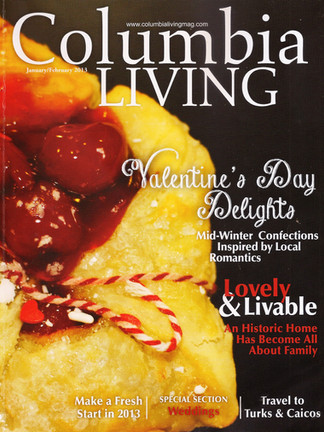 Columbia Living, Valentine's Day Delights