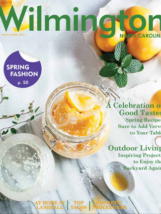 Wilmington NC magazine, The Spring Collection
