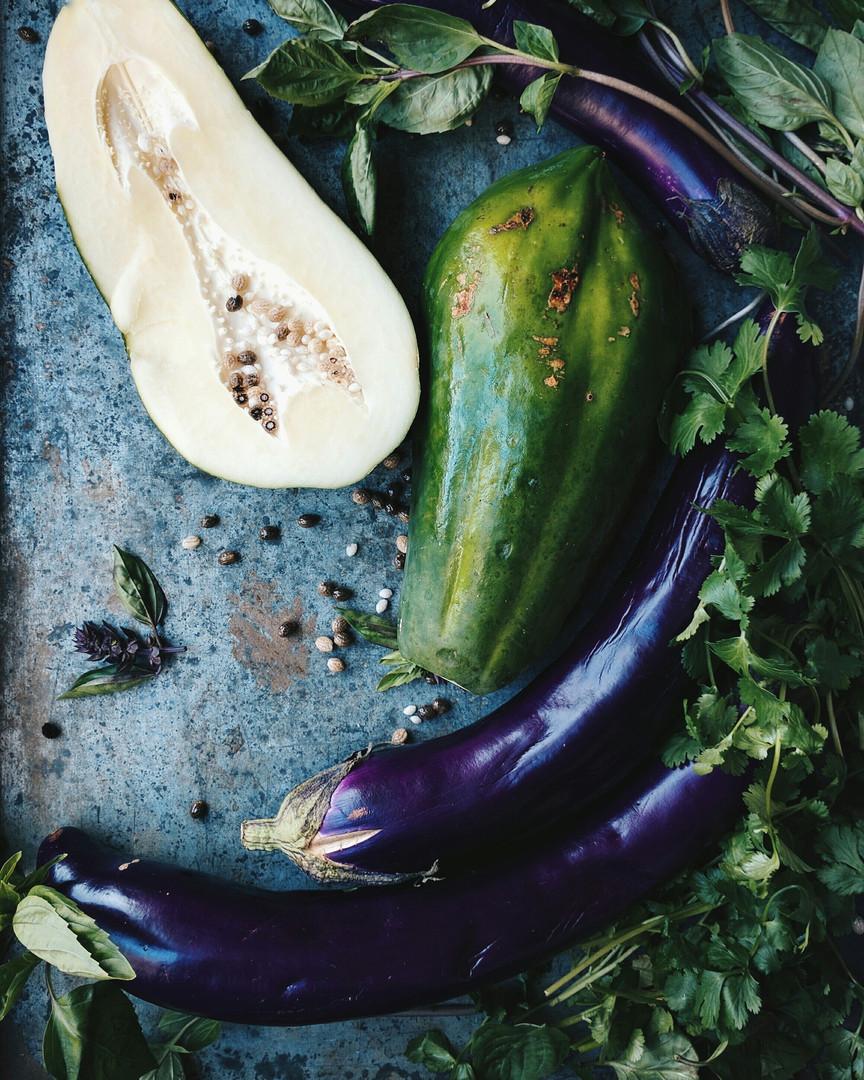Still Life with Eggplant