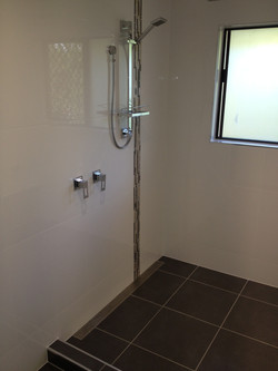 wetroom shower area