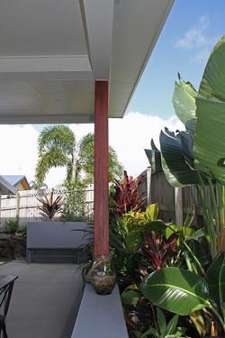 long garden view
