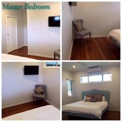 Master bedroom complete