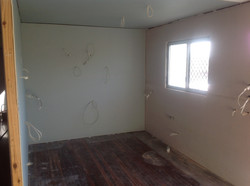 Kitchen gutted and prepped