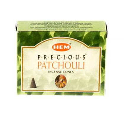 HEM Patchouli Cones 1 box (10 cones)