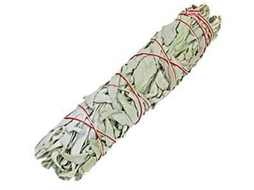 "California White Sage Smudge Stick 7"" (Medium)"