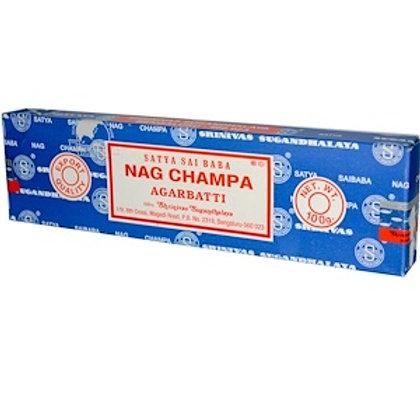Satya Sai Baba Nag Champa Incense (8-10) Sticks/Box