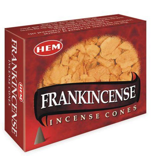 HEM Frankincense Cones 1 box (10 cones)
