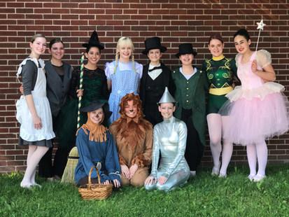 Wizard Of Oz- Recital 2018