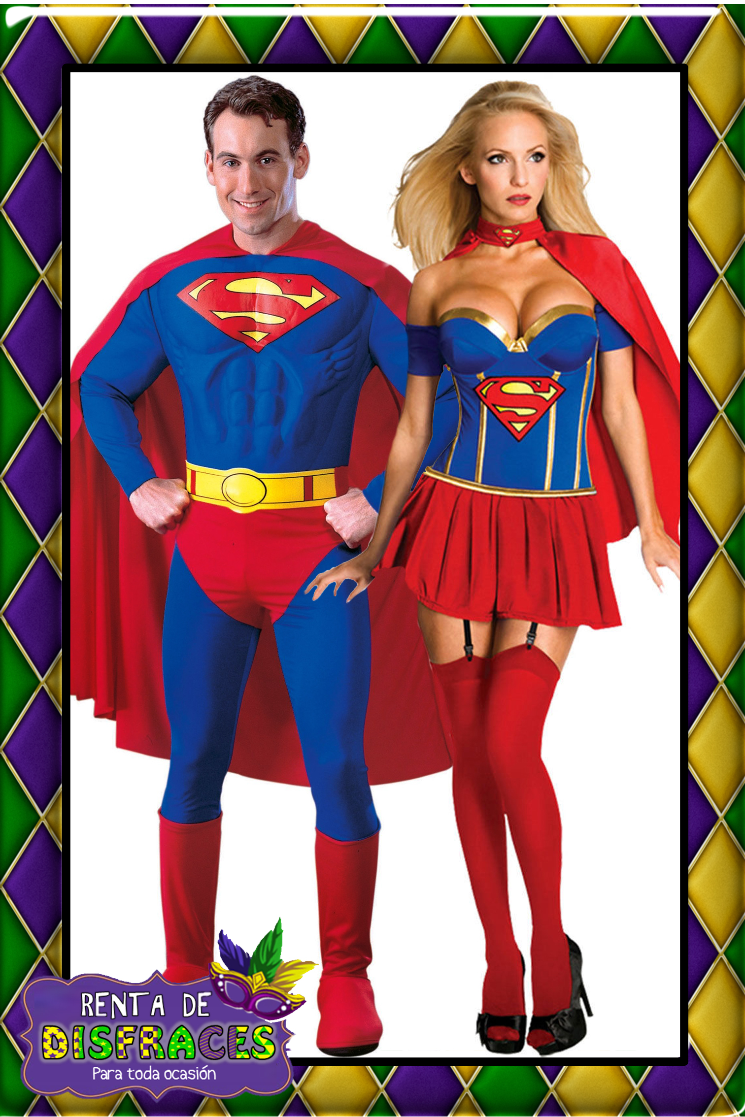 SUPERMAN Y SUPERGIRL 3