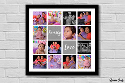 FAMILY LOVE COLLAGE 50X50