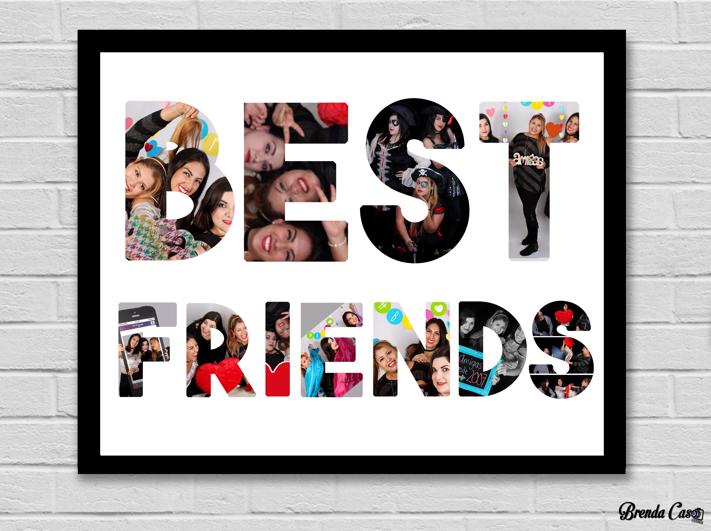 BEST FRIENDS 40X50