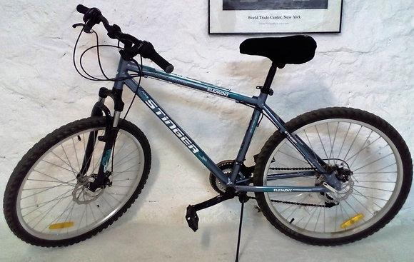 Горный велосипед (алюминиевая рама, дисковые тормоза)