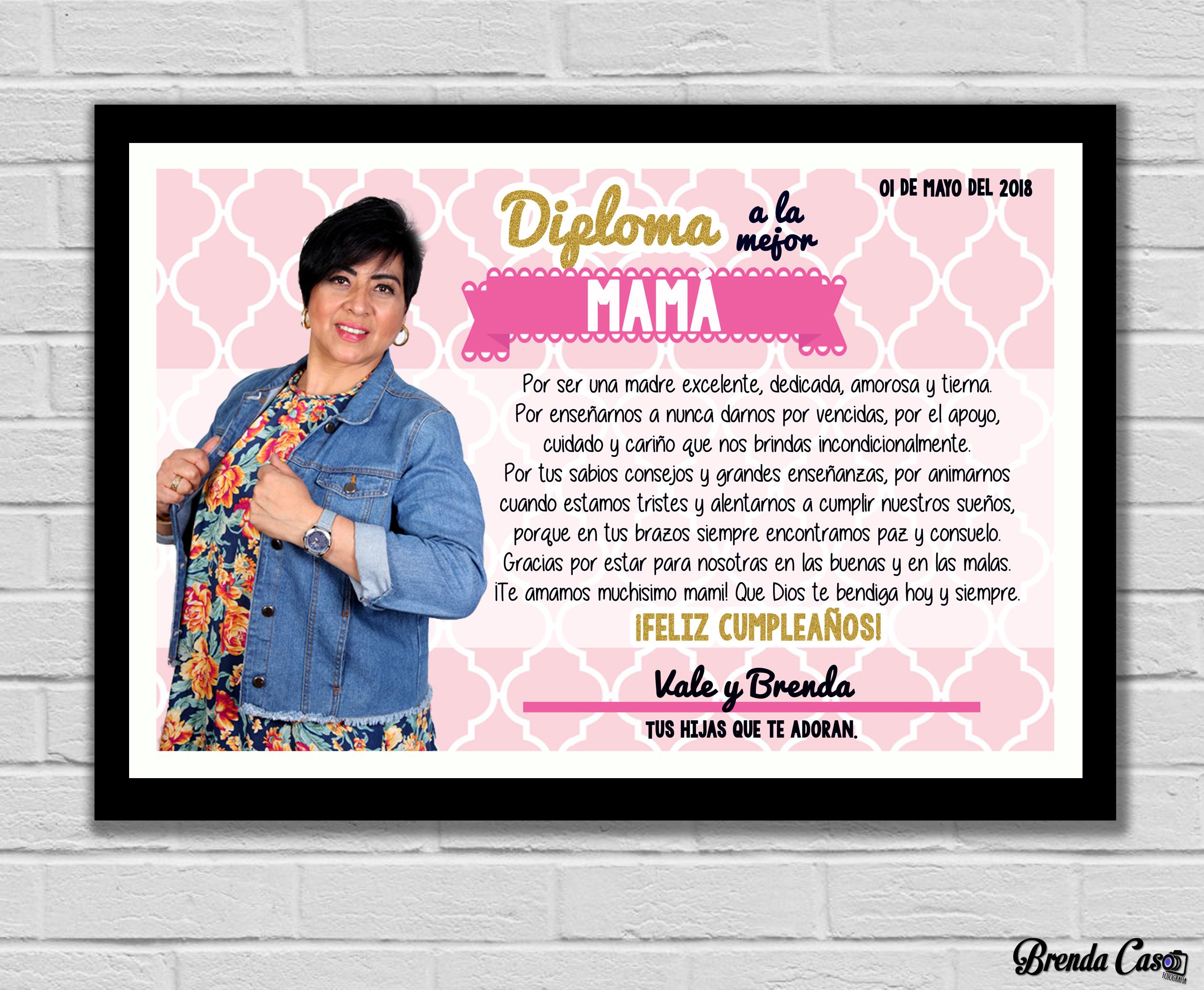 DIPLOMA MAMÁ