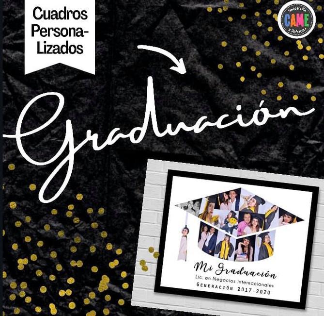 Cuadros Personalizados de Graduación