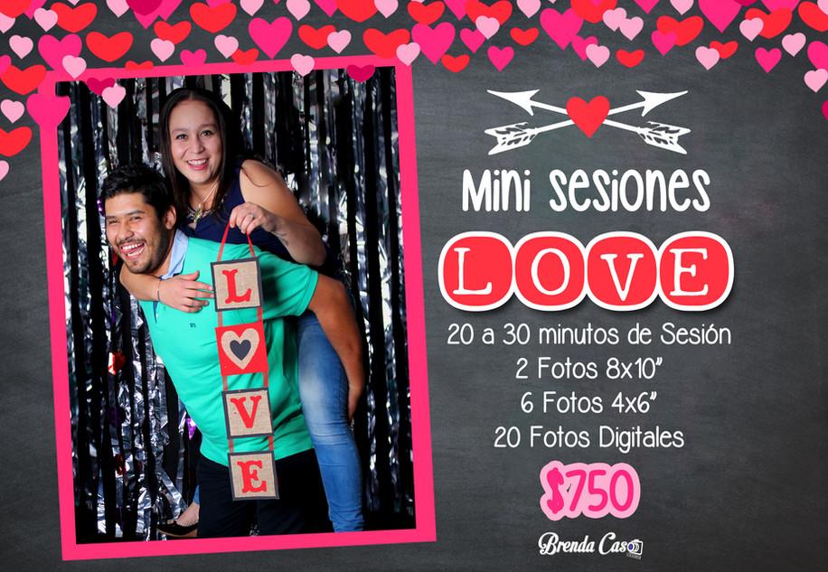 ❤️💟Mini Sesiones de San Valentín 💟❤️