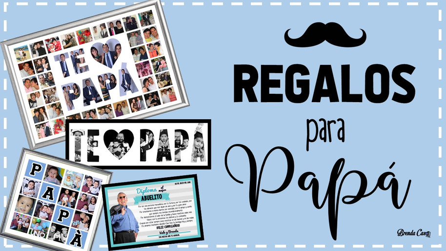 REGALOS PARA PAPÀ