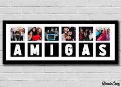 AMIGAS CUADROS 60X20