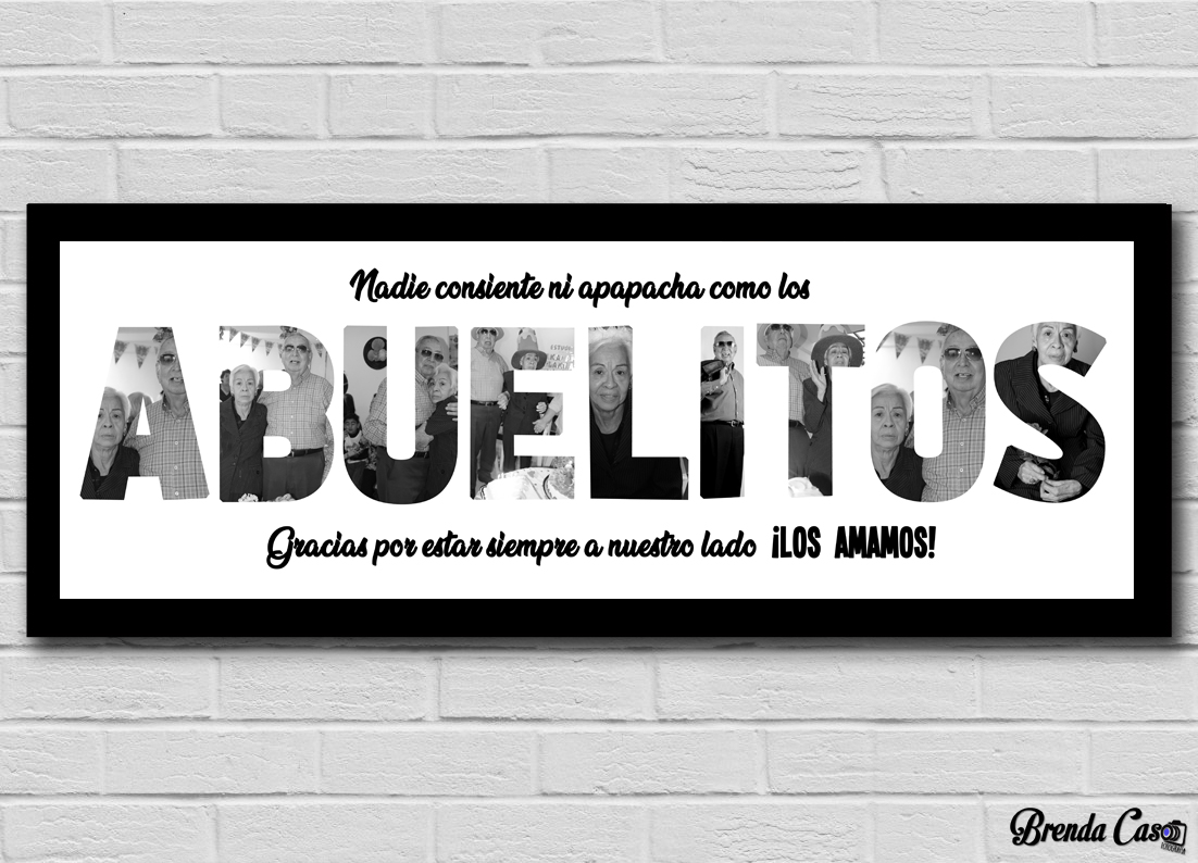 ABUELITOS 60X20