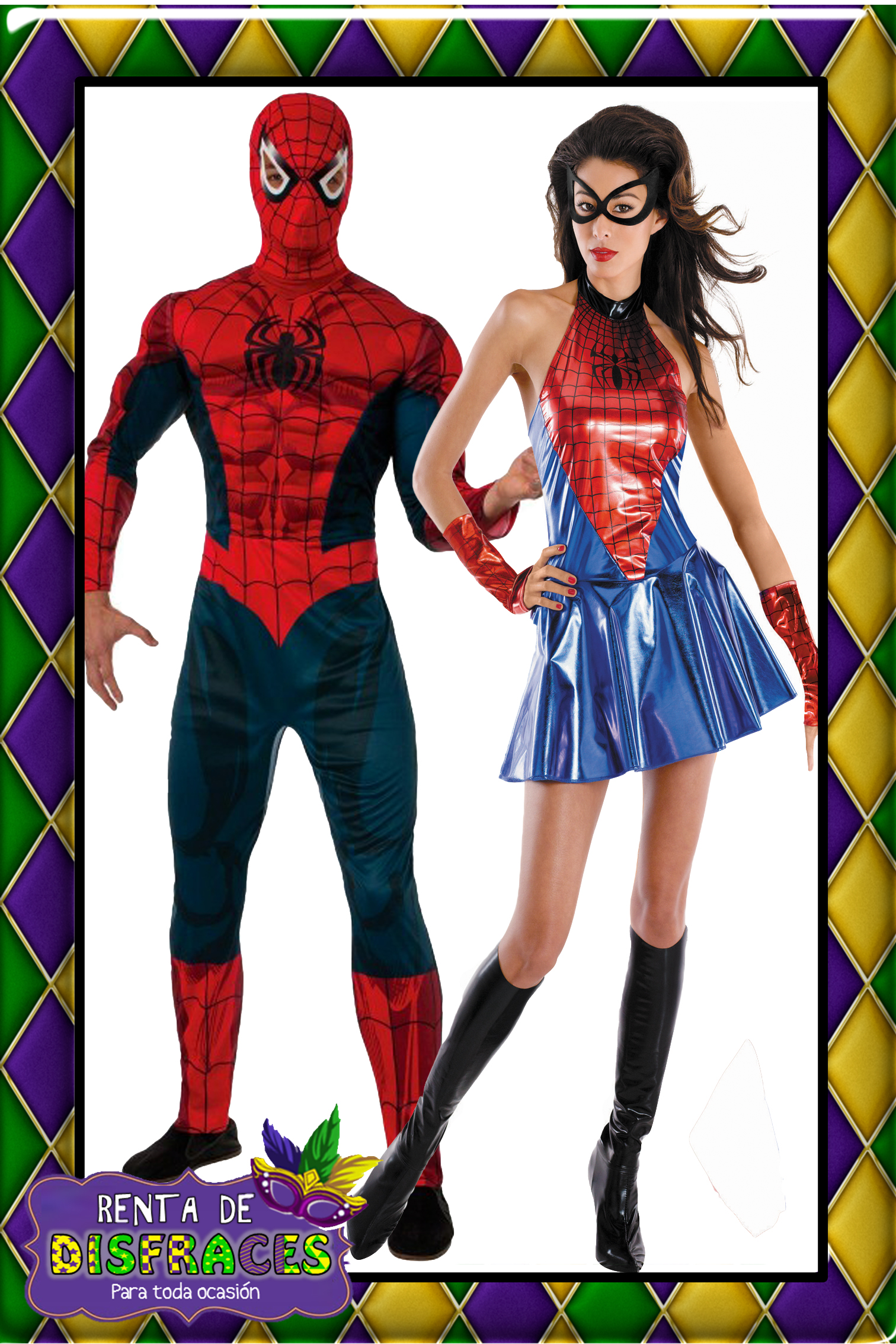 SPIDERMAN Y SPIDERGIRL