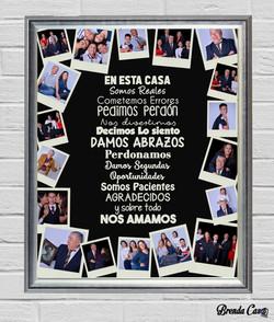 POLAROID FAMILIA 40X50