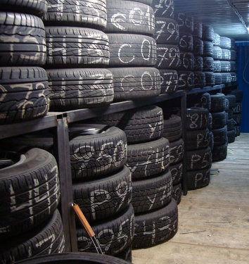 Хранение шин, колес, покрышек, резины в Екатеринбурге