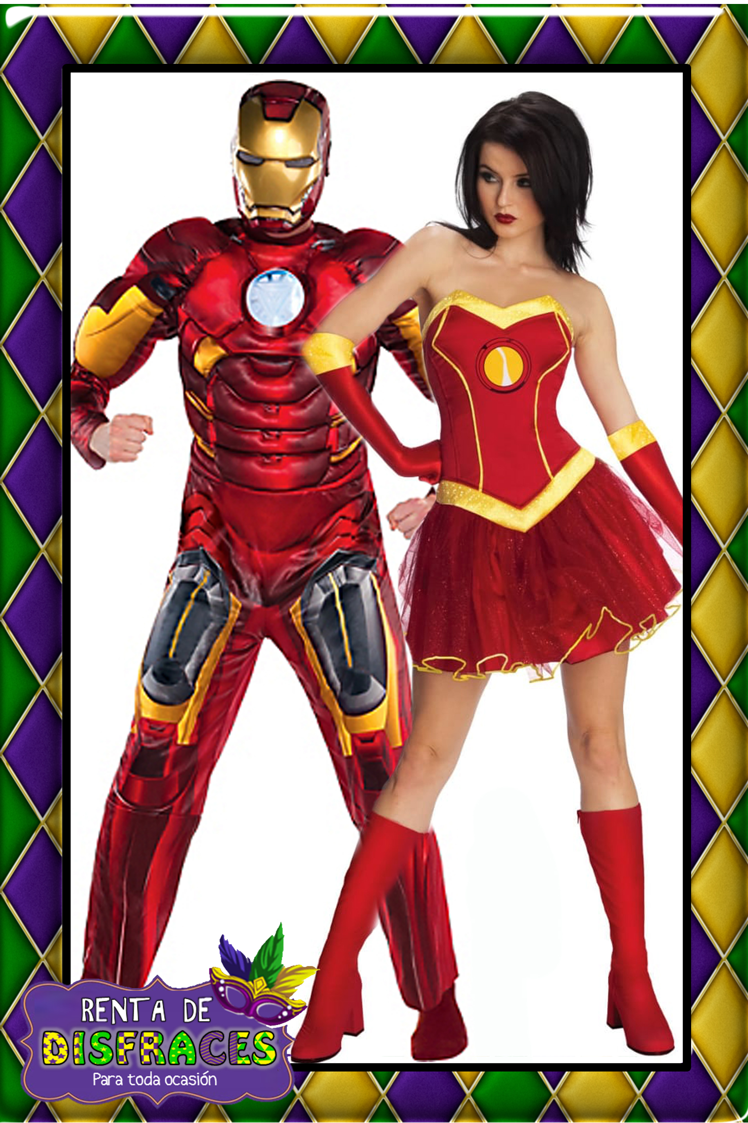 IRON MAN & IRON GIRL