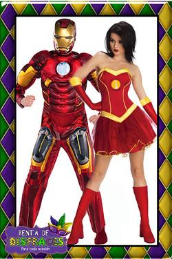 IRON MAN & IRON GIRL