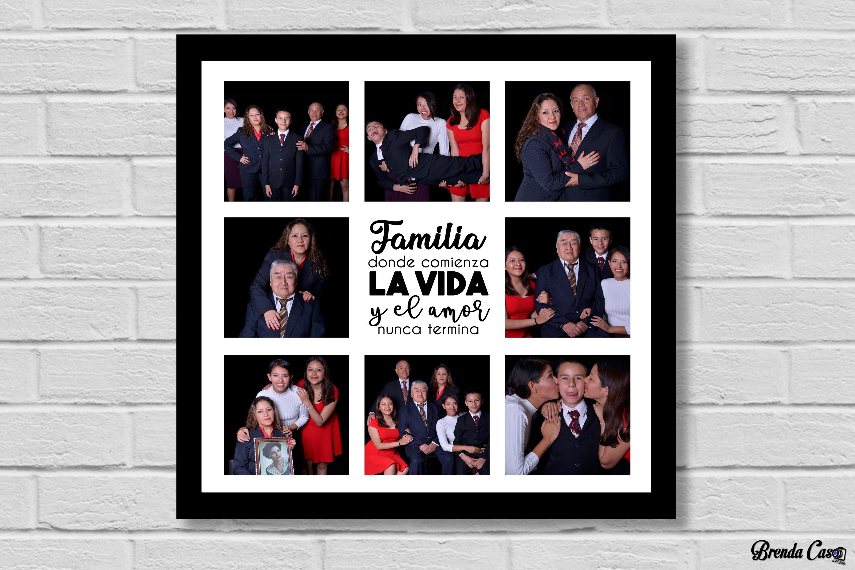 FAMILIA FRASE CENTRO 50X50