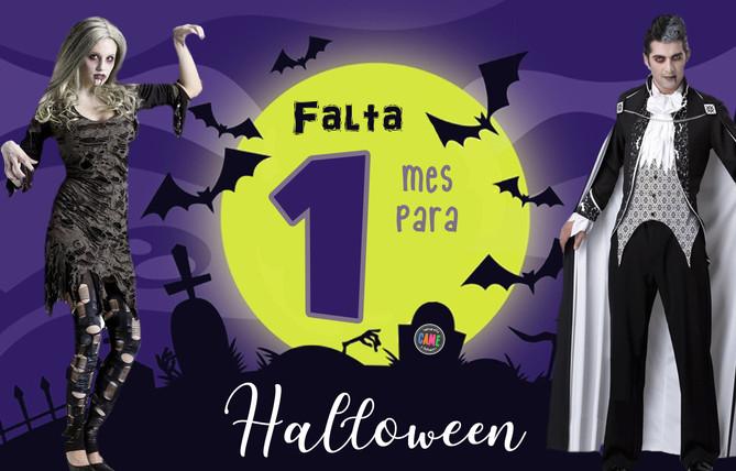 Estamos a 1 mes de Halloween!!🕷️🎃