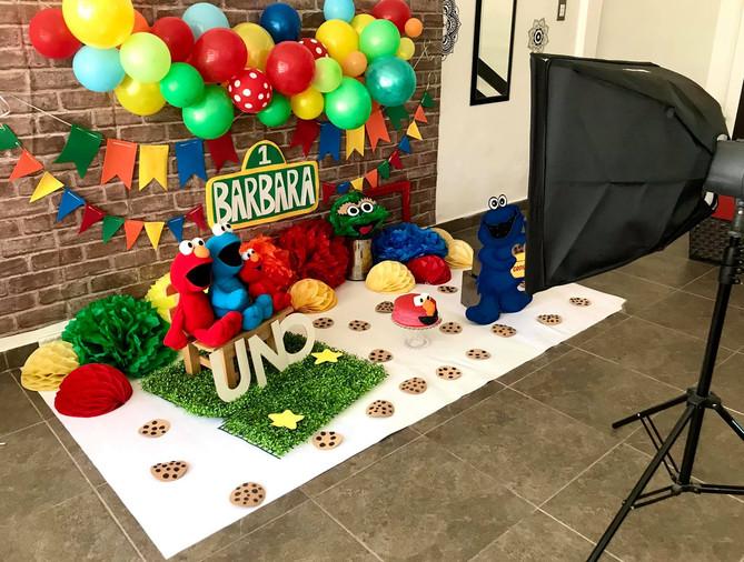 Set Smash Cake Plaza Sèsamo