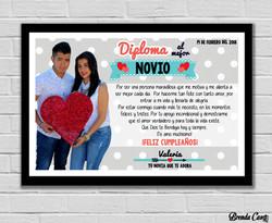 DIPLOMA NOVIO