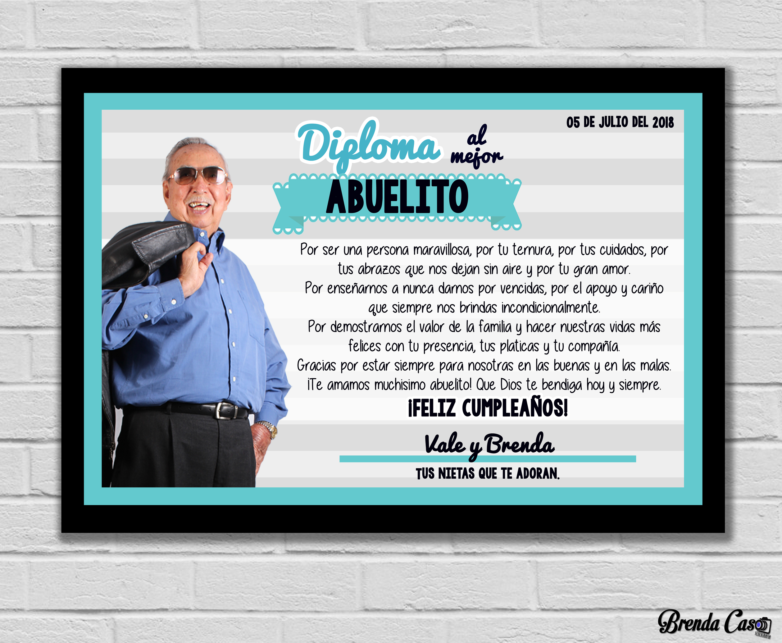 DIPLOMA ABUELITO