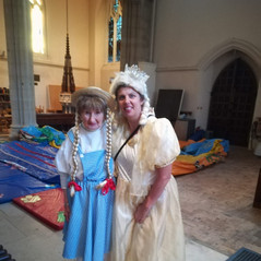 Dorothy from the Wizard of Oz & Fairy Godmother from Cinderella  (Churches Together in Epping & District (CTED)