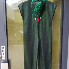 Ssssensational snake costume designed by the sewing team
