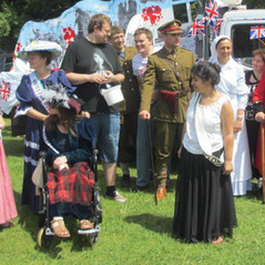 Volunteer Action Epping Forest  WW1 during their Community Parade