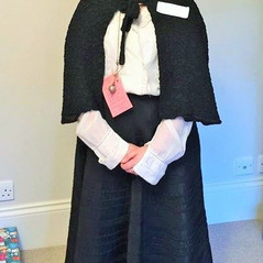 Vicky as Marie Curie for Science Week