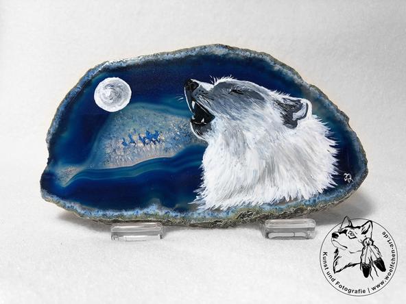 Heulender Polarwolf (mittel)