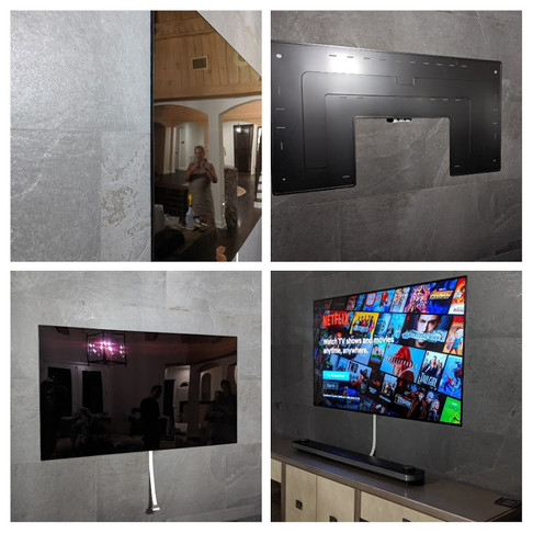 Paper-thin TV