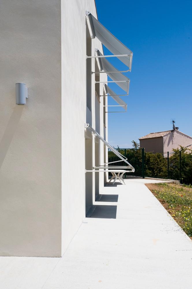 coo architectes agence architecture montpellier occitanie maison de retraite l 39 oustal. Black Bedroom Furniture Sets. Home Design Ideas
