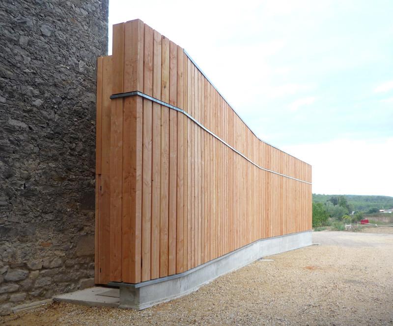 Agence Architecture Montpellier : coo architectes agence architecture montpellier occitanie chai du tr paloup saint cl ment ~ Nature-et-papiers.com Idées de Décoration