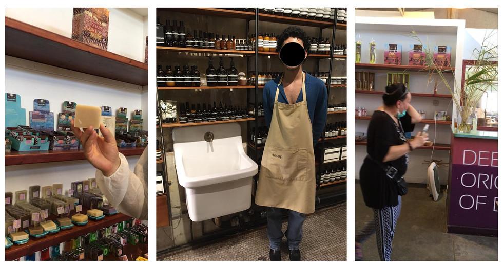 תצפיות בחנויות קוסמטיקה וטיפוח בישראל ובניו יורק